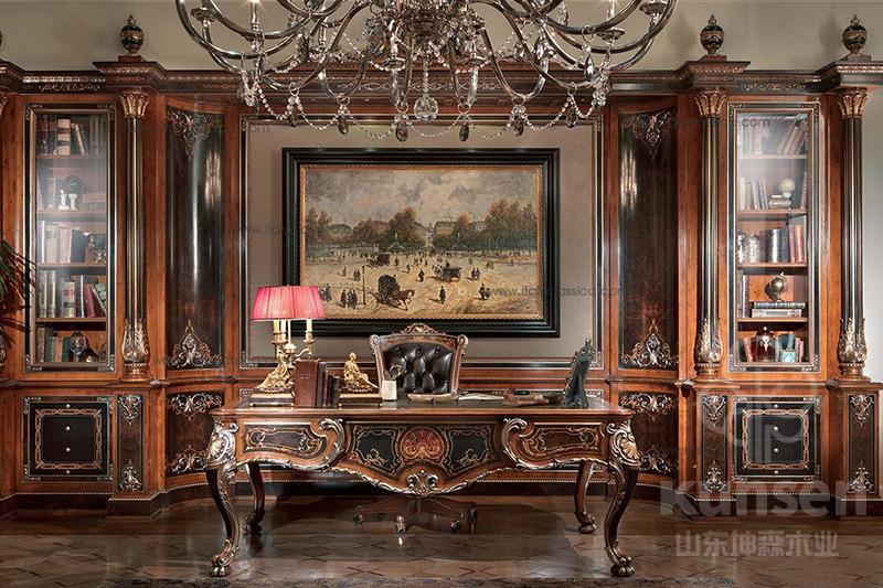 别墅实木家具